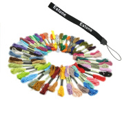 Estone® 50 Anchor Cross Stitch Cotton Embroidery Thread Floss Sewing Skeins Craft