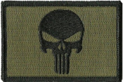 Punisher Tactical Patch - Olive Drab