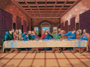 Reeves Painting by Numbers Artists Collection, 30cm x 41cm , The Last Supper
