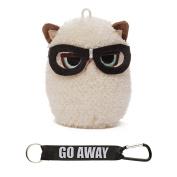 Gund Grumpy Cat Mini Plush with Glasses, 10cm