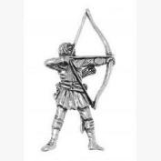 Archery Pin Badge Brooch Gift, Supplied in Organza Bag