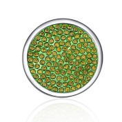 Interchangeable Coin for Interchangeable Pendant Necklace -Green -