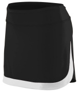 Augusta Sportswear Girls' Colour Block Skort - Low Rise Moisture Wicking Odour Resistant