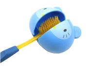 boutique1583 Cartoon Animal Automatic Toothbrush Holder Bath Organiser
