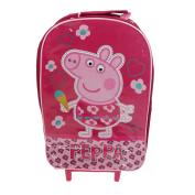Hopscotch Peppa Pig Wheeled Travel Bag