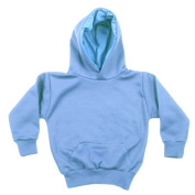 Baby Blue Unbranded fleece backed hooded top 5-6yr