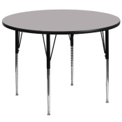 Flash Furniture 150cm . Round Adjustable Height Activity Table
