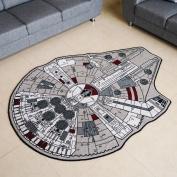 Star Wars Grey Millenium Falcon Rug