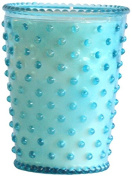 K. Hall Designs No-74 Cucumber and Gin Hobnail Glass Candle, 470ml