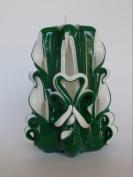St. Patrick's Day Pillar/Emerald Green
