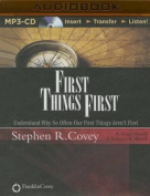 First Things First [Audio]