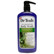Dr. Teal's Ultra Moisturising Body Wash, Relax & Relief with Eucalyptus Spearmint 710ml