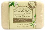 A La Maison Bar Soap Sweet Almond -- 260ml