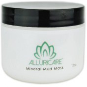 Ancient Sea Mud is Proven Effective Natural Facial Exfoliator and Acne Treatment - Great Salt Lake Mineral Mud Face & Body Mask - 60ml - 23 Applications - Detox and Cleanse Your Pores - Made in USA for Your Radiant, Clear, Youthful Looking Skin!