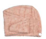 Ultra Absorbent Microfiber Twist Hair Turban Dry Cap Bath Head Wrap Hair Wrap Cap