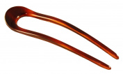 Parcelona French Large 12cm Tortoise Shell Celluloid U Hair Pin Stick