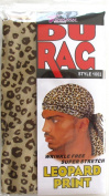 Tommy Stretch Spandex Leopard Print Du Rag Doo Rag Skull Cap Afro Black People Hair 1062