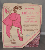 Andre Fantasies Originals Dri-Back Pink Shampoo Cape