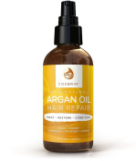Argan Oil Hair Repair - 100% Natural Hair Oils - BEST Premium Leave-in Conditioner & Restorative Hair Care - Natural & Organic - Create That Lustrous Healthy Shine - For Softer, Longer and Fuller Hair - No More Dry Damaged Hair
