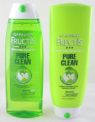 Garnier Fructis Pure Clean Fortifying Shampoo and Conditioner Set - 380ml
