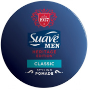 Suave Men Heritage Pomade, Classic Styling, 50ml