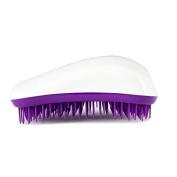 Dessata Detangle Brush, White and Purple