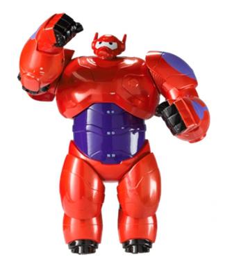 Big Hero 6 15cm Feature Baymax Armoured Figure