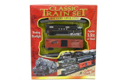 Classic Train Set With Lights Battery Operated