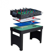 Gamesson Jupiter 4 in 1 Combo Table - Black/Green, 1.2m