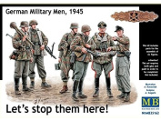 Masterbox 1/35 - German Soldiers, 1945 - 'Lets stop them here!' # 35162