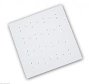 New Long White Rubber 54 X 54 Cm Extra Grip Anti Bacterial Non Slip Bath Shower Mat.