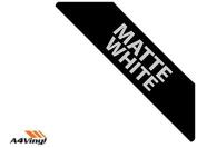 White Matte 150mm Kitchen & Bathroom Wall Tile Transfers,