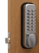 Securikey Digital Door Lock with Fail-safe and 4000 Possible Combinations Ref DXLOCKITHB-C
