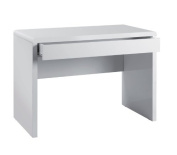 Luxor Workstation White Gloss By Ready Office - Height: 764 MM; Width: 1100 MM; Depth