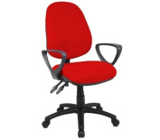 Vantage Chair 2 Lever With Fixed Arms By Ready Office - Height: 895-1005 MM; Width: 480 MM; Depth