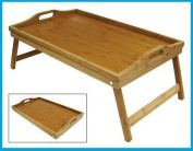 Folding Bamboo Breakfast Tray with Handles