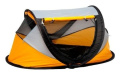 NS Associates Deluxe Travel Centre/Travel Cot Yellow