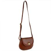 Ladies Small LEATHER Cross Body Shoulder BAG Kenneth Brownne Handbag Classic