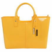 Urban Country Florence Standard Shopper in Yellow Gloss Finish