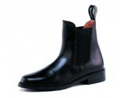 Toggi Ottawa Child's Pull On Leather Jodhpur Boot In Black, Size