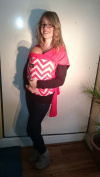 Fashion Chevron Design Bebedou Baby Carrier Stretchy Wrap Baby Sling