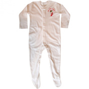 Baby Boys & Girls My First Christmas White Baby All In One Sleepsuit