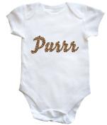 HippoWarehouse PURRR baby vest boys girls