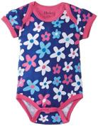 Hatley Baby Girls Infant AOP One Piece Summer Garden Bodysuit