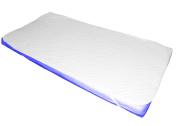 Super Soft Luxury Quilted Travel Cot Mattress Enchancer/Topper 119 x 59 cm