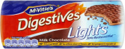 McVitie's Lights Digestives - Milk Chocolate
