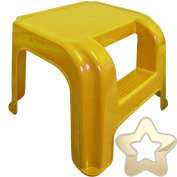 2 Step Stool - Potty Training - High for Little Legs - Strong for Adults - Yellow