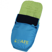 Genuine iSafe Visual 3 Universal Deluxe 2 In 1 Footmuff Cosytoes Liner - Apple Slice