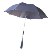 STROLLER BUGGY PRAM PARASOL UMBRELLA - IT FITS TO MOST PRAMS - VERY SIMPLE TO ATTACH WITH SCREW TYPE FITTING TO FRAME - UMBRELLA CAN BE SIMPLY ADJUSTED INTO POSITION - PERFECT FOR BABIES AND INFANTS TO KEEP THE DRY AND PROTECTED