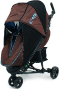 iSafe Visual 3 - Brown & Blue Complete With Bumper Bar And BootCover